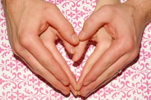 Double Heart Hands