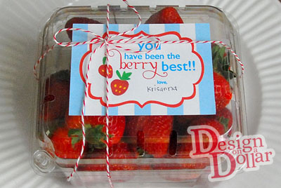 Beautiful, Edible, Inexpensive Teacher Gift-$1.35!