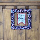 $5 dollar 4th of July wreath in 5 minutes!