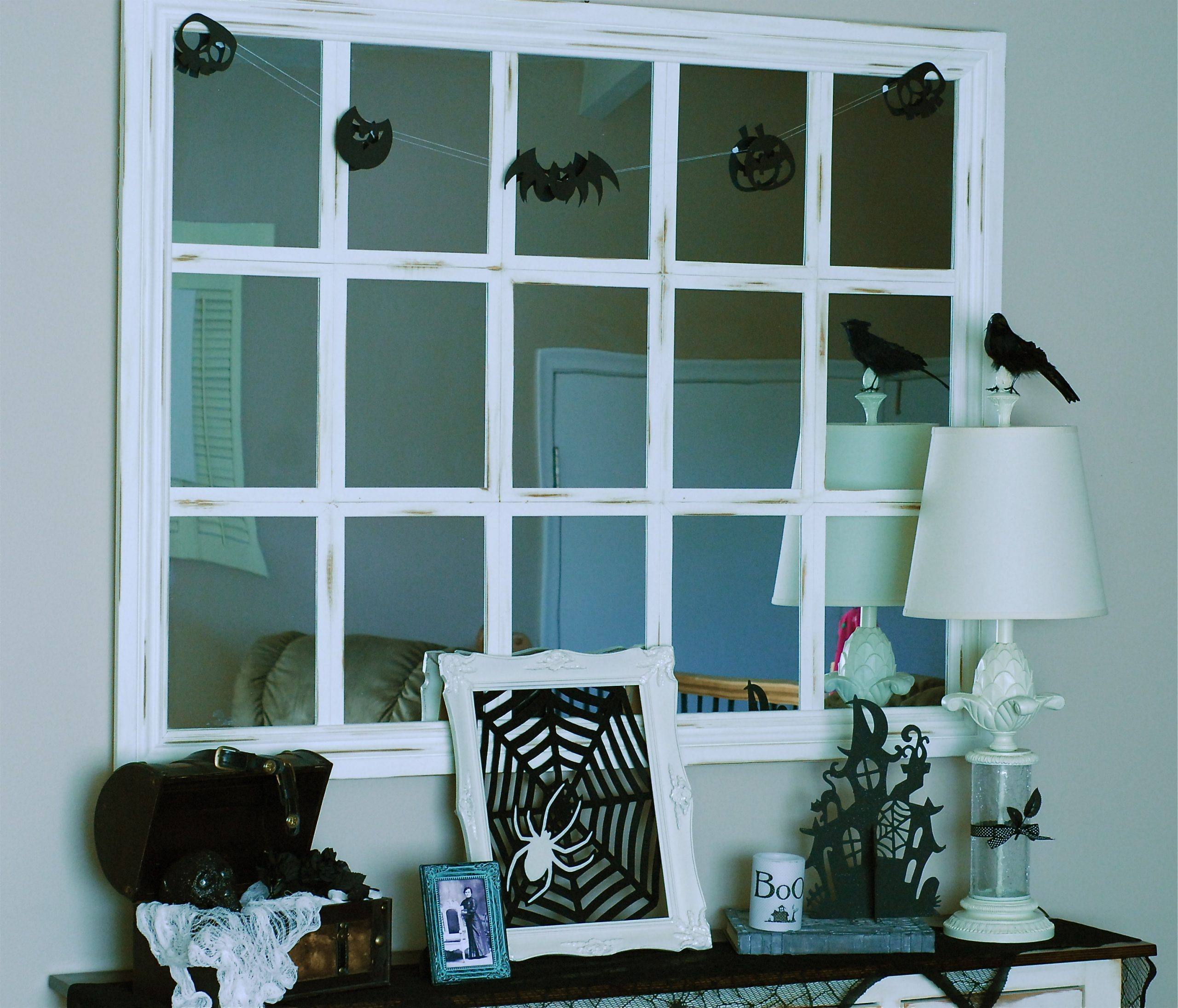 Large Scale Pottery Barn Inspired Mirror